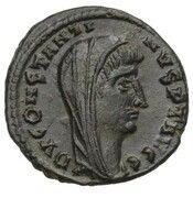 "Nummus - Constantin Ier ""le grand"" (DV CONSTANTINVS PT AVGG ; Alexandrie) – avers"