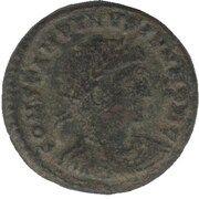 Follis - Constantinus II (GLORIA EXERCITVS; Cyzicus) – avers