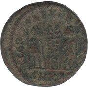 Follis - Constantinus II (GLORIA EXERCITVS; Cyzicus) – revers