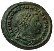 "Follis - Constantin 1er ""le Grand"" (GENIO POPVLI ROMANI avec S/A, Trèves) -  avers"