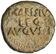 As - Auguste (P CARISIVS LEG AVGVSTI, Emerita Augusta) – revers