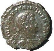 Follis - Constantius II (GLORIA EXERCITVS; Aquileia) – avers