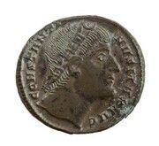 Follis - Constantine I (CONSTANTINI-ANA DAFNE; Constantinople) – avers