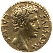 Aureus - Auguste (IOV TON; Jupiter) -  avers