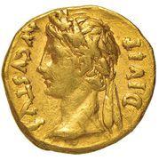 Aureus - Auguste (IMP XII) -  avers
