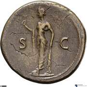 Sesterce - Titus (S C; Spes) – revers
