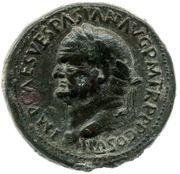 Sesterce - Vespasien (S C; Spes) – avers