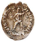 Siliqua - Honorius (VIRTVS ROMANORVM; Rome) -  avers
