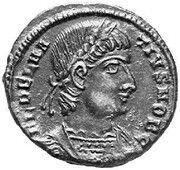 Follis - Delmace (GLOR-IA EXERC-ITVS; One standard; Antioch) – avers