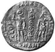 Follis - Delmace (GLOR-IA EXERC-ITVS; One standard; Antioch) – revers