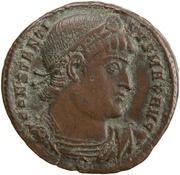 Follis - Constantin Ier (CONSTANTINIANA DAFNE, Constantinople) – avers