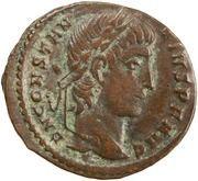 Follis - Constance II (GLORIA EXERCITVS, Constantinople) – avers