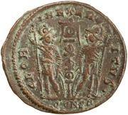 Follis - Constance II (GLORIA EXERCITVS, Constantinople) – revers