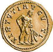 Aureus - Probus (VIRTVTI AVGVSTI; Hercule) -  avers