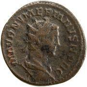Antoninianus - Numérien comme César (MARS VICTOR; Mars) -  avers