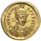 Solidus - Honorius – avers