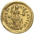 Solidus - Honorius – revers