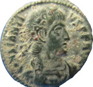 Follis - Constance II (VICTORIAE DD AVGG Q NN avec palme ⸙ dans le champ, Siscia) – avers