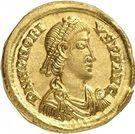 Solidus - Honorius (VICTORIA AVGGG, Thessalonique) – avers