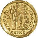 Solidus - Honorius (VICTORIA AVGGG, Thessalonique) – revers