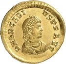 Solidus - Arcadius (CONCORDIA AVGGGG, Constantinople) – avers