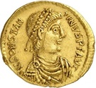 Solidus - Constantin III (VICTORIA AVGGG, Trèves) – avers