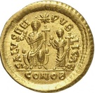 Solidus - Théodose II (SALVS REIPVBLICAE, Constantinople) – revers
