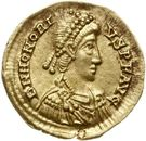 Solidus - Honorius (Ravenne) – avers
