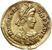Solidus - Honorius (Ravenne) -  avers