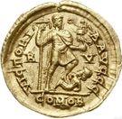 Solidus - Honorius (Ravenne) – revers