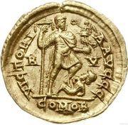 Solidus - Honorius (Ravenne) -  revers