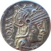 Denier Cæcilia – Marcus Cæcilius Metellus – avers