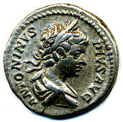 Caracalla Denarius – avers
