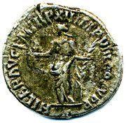 Commodus denarius – revers