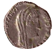 Nummus - Constantinus I (Antioch mint) – avers