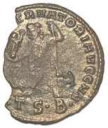 Follis Licinius I IOVI CONSERVATORI Thessalonica – revers