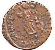 Nummus - Theodosius I (SALVS REI-PVBLICAE; Nicomedia) – revers
