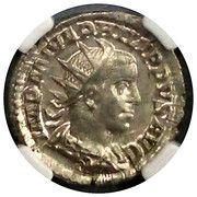 AR Double-Denarius (Philip II - AD 247-249) – avers