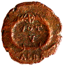 Follis - Jovianus (VOT V; Alexandria) – revers