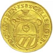 1 1 Ducat - Wilhelm of Rosenberg – avers
