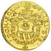 1 Ducat - Wilhelm of Rosenberg – avers