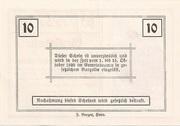 10 Heller (Rosenburg) -  avers