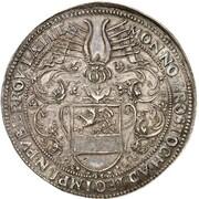 2 thaler (baptème du Prince Carl Heinrich) – avers