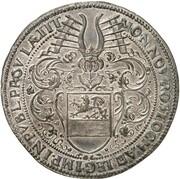 1 thaler (baptème du Prince Carl Heinrich) – avers