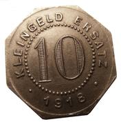 10 pfennig - Rottenburg am Neckar – revers