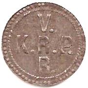 2 pfennig - Rottweil (Pulverfabrik) – revers