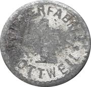 1 pfennig - Rottweil (Pulverfabrik) – avers