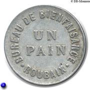 1 Pain - Bureau de Bienfaisance - Roubaix [59] – revers