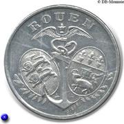5 Centimes Chambre de Commerce de Rouen [76] – avers