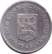 5 centimes - Ligue des Commerçants Rouennais - Rouen [76] – avers